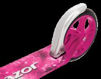 Городской самокат с колесами 200 мм Razor A5 lux розовый